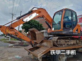 周口斗山DX75-9CN ACE挖掘機實拍圖片