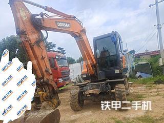 秦皇島斗山DX60W挖掘機實拍圖片