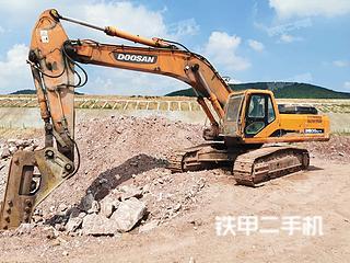南京斗山DH420LC-7挖掘機實拍圖片