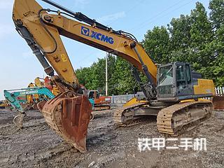 山东-德州市二手徐工XE470D挖掘机实拍照片