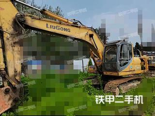 安徽-宿州市二手柳工CLG922D挖掘机实拍照片