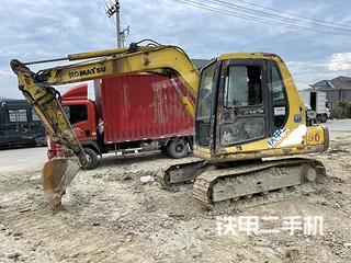 浙江-杭州市二手小松PC60-7挖掘机实拍照片