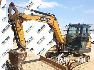 安徽-合肥市二手三一重工SY55C挖掘机实拍照片