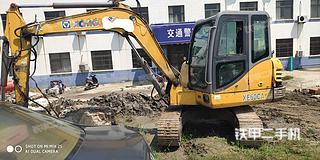 江苏-泰州市二手徐工XE60CA挖掘机实拍照片