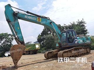 柳州神钢SK350LC-8挖掘机实拍图片