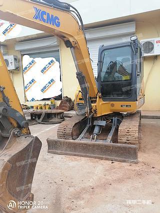 山西-太原市二手徐工XE55D挖掘机实拍照片
