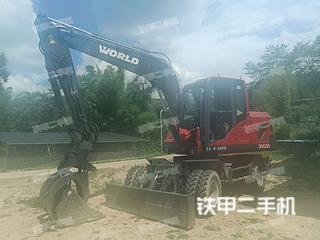 沃得重工W295W-9挖掘機實拍圖片