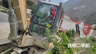 四川-阿坝藏族羌族自治州二手徐工XE60DA挖掘机实拍照片