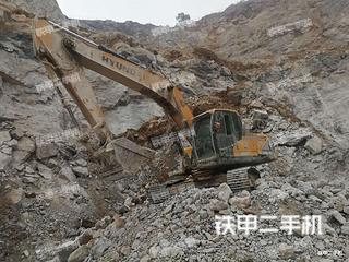 現代R275LVS挖掘機實拍圖片