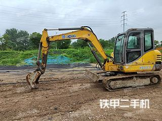 安徽-亳州市二手徐工XE60CA挖掘机实拍照片