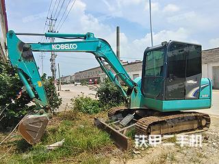 安徽-滁州市二手神钢SK60-8挖掘机实拍照片