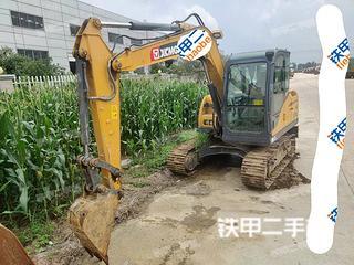 河南-驻马店市二手徐工XE75DA挖掘机实拍照片
