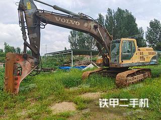淄博沃尔沃EC360BLC挖掘机实拍图片
