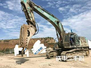 濰坊神鋼SK495D-8挖掘機實拍圖片