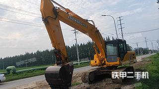 徐州龍工LG6225E挖掘機實拍圖片