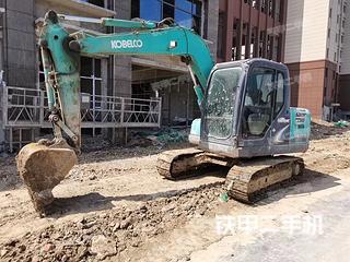 神钢SK75-8挖掘机实拍图片