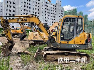 山東臨工LG660挖掘機實拍圖片