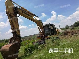 住友SH200A5挖掘机实拍图片