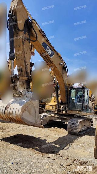 柳州卡特彼勒329D挖掘機實拍圖片