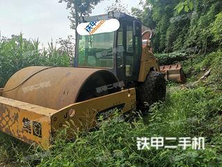 四川-绵阳市二手洛阳路通LT220B压路机实拍照片