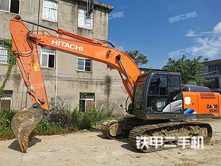 日立ZX200-5A挖掘机实拍图片