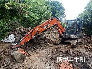 安徽-淮南市二手斗山DH55G-CN10挖掘机实拍照片