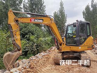 山东-临沂市二手徐工XE60DA挖掘机实拍照片