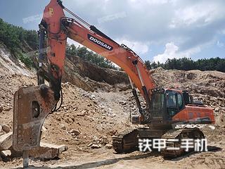 孝感斗山DX500LC-9C挖掘機實拍圖片