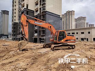 安徽-芜湖市二手斗山DH225LC-7挖掘机实拍照片