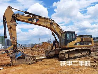 柳州卡特彼勒345D挖掘機實拍圖片