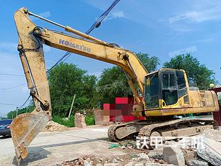 聊城小松PC220-8挖掘機實拍圖片