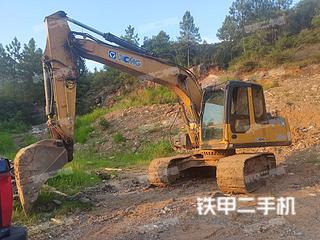 湖南-邵阳市二手徐工XE150D挖掘机实拍照片