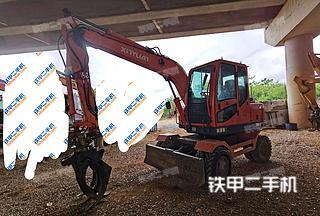 新源XY85W-8挖掘机实拍图片