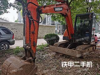 孝感斗山DH60-7挖掘機實拍圖片
