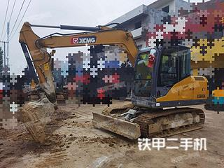 河南-南阳市二手徐工XE75DA挖掘机实拍照片