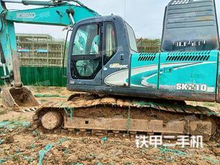 合肥神鋼SK210LC-8挖掘機實拍圖片