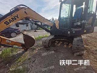 山东-烟台市二手三一重工SY55C挖掘机实拍照片