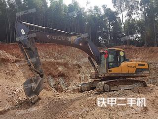 湖南-湘西土家族苗族自治州二手沃尔沃EC250D挖掘机实拍照片
