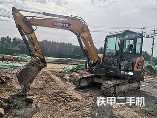 淄博雷沃重工FR65E挖掘机实拍图片