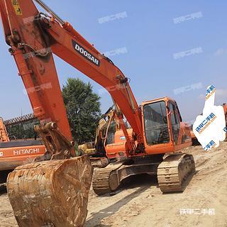 山西-朔州市二手斗山DH215-9E挖掘机实拍照片