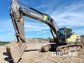 沃爾沃EC300DL挖掘機實拍圖片