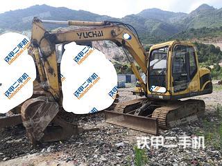 二手玉柴 YC85-8 挖掘机转让出售