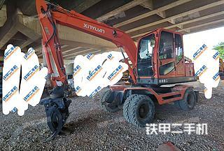 新源XY75W-9挖掘机实拍图片