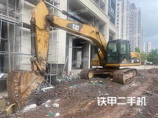 浙江-金华市二手卡特彼勒323DL挖掘机实拍照片