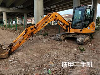 江苏-南京市二手龙工LG6060挖掘机实拍照片