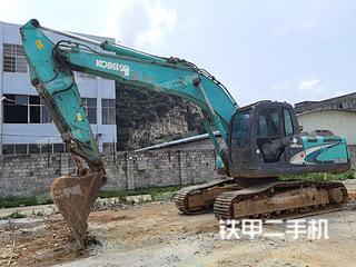 柳州神鋼SK200-8挖掘機實拍圖片