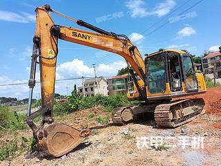 湖南-衡阳市二手三一重工SY155H挖掘机实拍照片