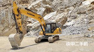 柳州柳工CLG920E挖掘機實拍圖片