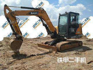 贵州-贵阳市二手三一重工SY60C挖掘机实拍照片
