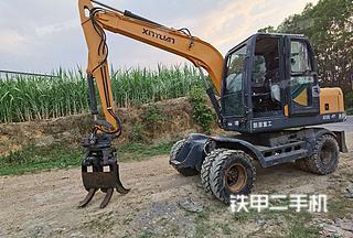 新源XYB75W-9挖掘机实拍图片